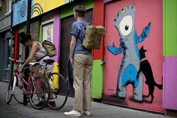 east london street art map rome - photo#46