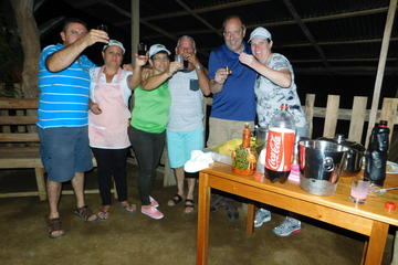 Moonshine and BBQ Party in La Fortuna