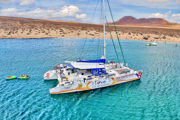 Luxury Catamaran Cruise Day Trip to La Graciosa