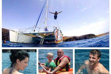 Luxury Catamaran Cruise to the...