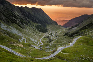 The most beautiful road in Romania...