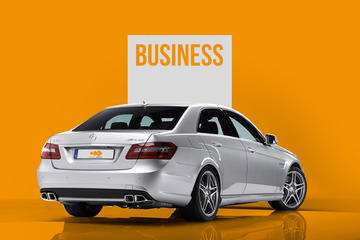 Berlin City Departure Private Transfer to Berlin Tegel Airport TXL in Business Car