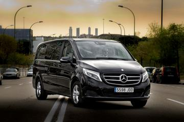 Departure Private Transfer Luxury Van Malaga City to Malaga airport...