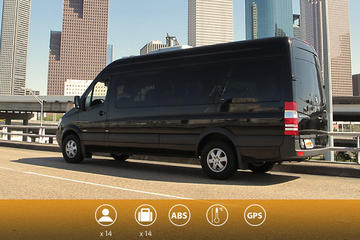 Departure Private Transfer Paris to CDG or ORY in a Minibus