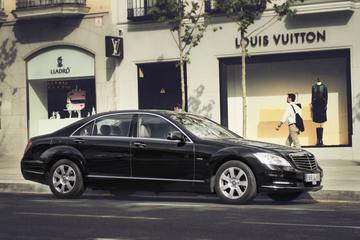 Luxembourg City Departure Private Transfer to Luxembourg LUX in Luxury Car