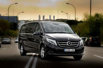 Luxembourg City Departure Private Transfer to Luxembourg LUX in Luxury Van