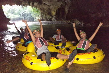 Cave Tubing and Zipline  From Belize...
