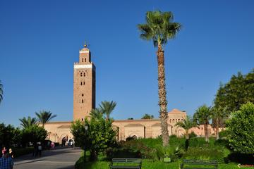 Marrakesch Sehenswürdigkeiten der Stadt, geführte halbtägige Tour