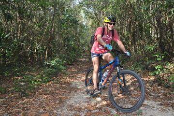 Beginners Mountain Biking Mayan Jungle Tour and Cenote Swimming