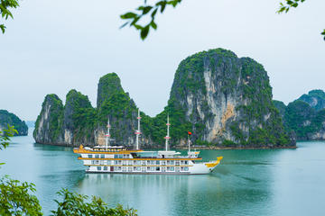 Dragon Legend Overnight Halong Bay Cruise with Hanoi Pickup