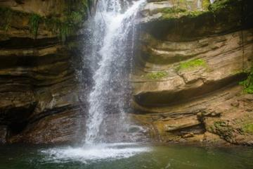 Nanny Falls and Maroon Village Tour from Kingston