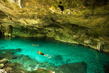 Cenote Dos Ojos Mayan Odyssey Tour in...