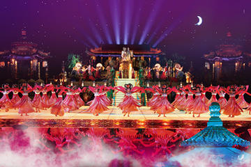 """9-Course Tang Dynasty Imperial Court Banquet Dinner and """"The Song of..."""