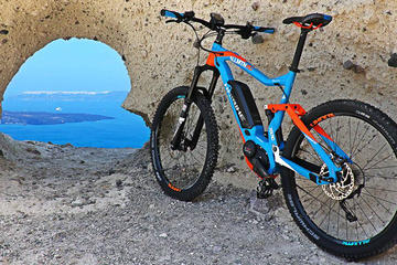Santorini Ebike Adventures-the original bike tours-SUNSET TOUR