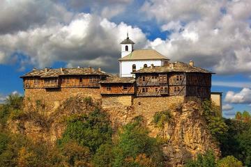 God's eyes cave & Glozhene monastery