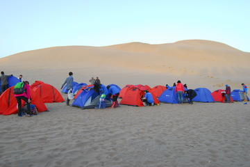 Private camel riding and  camping in the Gobi desert include dinner and breakfast
