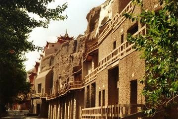 Private One Day Tour: Mogao Grottoes, White Horse Stupa & visit a local family
