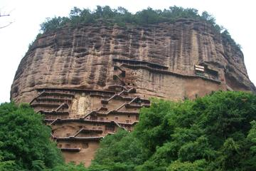 Private One Day Tour of Maiji Mountain Grottoes, Fuxi Temple Include Lunch