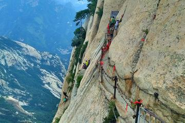 One Day Private Huashan Mountain Hike Tour from Xi'an