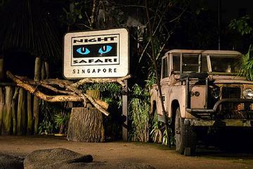 Entrée au Night Safari avec transfert...
