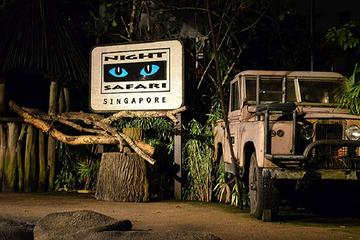 Private Night Safari Including Tram Ride from Singapore