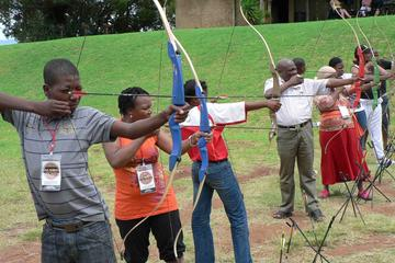 Archery Session at Letsatsing Game ...
