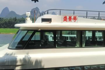 1 Day Relaxing Li River Cruise With The 4 Star Luxury Boat lower Deck Seating