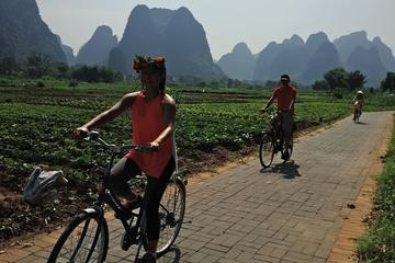 1 Day Yangshuo Cycling And Short Hiking Along The Li-River From Xingping