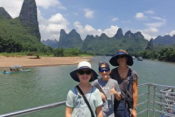 Full-Day Li-River Cruise From Guilin To Yangshuo by Group coach bus Day Tour