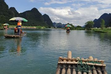 Guilin Airport Pick up & Yangshuo Yulong bamboo boat Private Day Tour