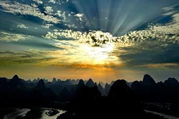 Half-day Yangshuo Xingping Laozhai Hill Sunset Private Tour