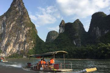 Short Li-River cruise from Yangdi to Xingping with English speaking Driver