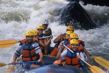Rafting en el río Pacuare de Costa Rica
