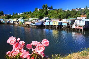 The island of Chiloé: Castro  Dalcahue