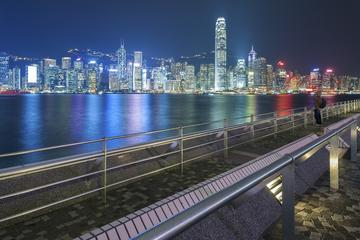 Hong Kong City Night Cruise Including Bubba Gump Dinner and Drinks