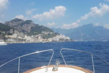 Amalfi Coast by Cabin Boat from Maiori: Private Tour