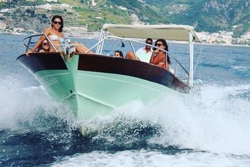 Amalfi Coast by Gozzo boat from Maiori: Private Tour