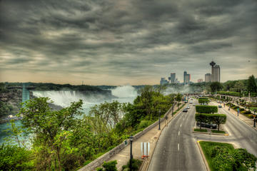 Transfer to Buffalo Niagara Int Airport (BUF) from wondrous Niagara Falls,Canada