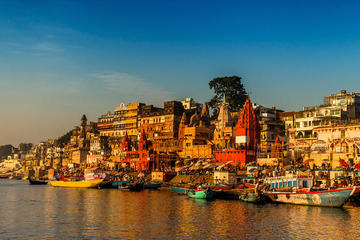 10-Day Golden Triangle and Holy City Tour from Delhi