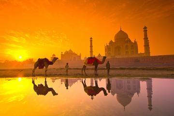2 days Taj Mahal Sunrise and sunset overnight tour from delhi