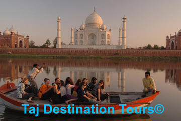 Private Agra City Taj Mahal Tour With Boat Ride View