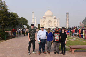 Taj Mahal overnight Sunrise tour with Round trips flights from Bangalore