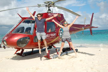 Sand Cay Experience with Great Barrier Reef Scenic Flight gourmet picnic and snorkelling