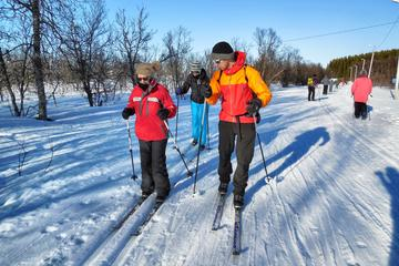 Guided Cross Country Ski Trip in Tromso - Beginner XC Ski Course