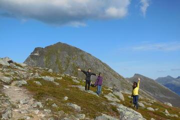 Guided Hike to Brosmetind in Tromso