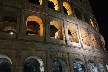 Colosseum by night, Santa Severa...