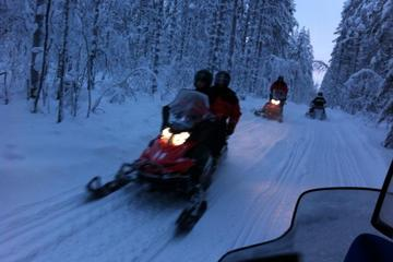 Easy Snowmobile Safari for Beginners in Ruka