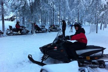 Full-Day Snowmobile Tour for...