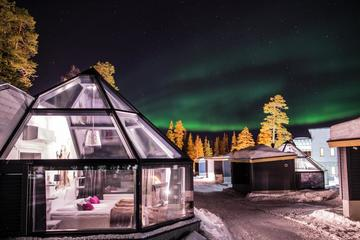 NEW YEAR LAPLAND HOLIDAY 1 NIGHT IN GLASS IGLOOS