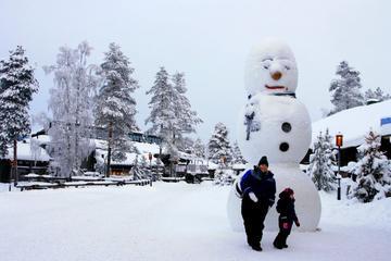 Rovaniemi Snowmobile Tour: Visit a Reindeer Farm and Meet Santa
